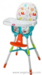 Baby Dining Chair with fabric cover - blue and green 2 colors