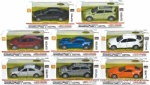 1:36 Pull Back Die Cast Car with light and music - 4 models ASST