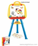 Easel Set with Letters and Numbers