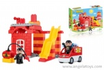 Fire-fighting Block Set - 63pcs