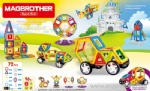 Magnetic Car, Ferris Wheel, and Fairground -72pcs