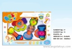 Teether and Rattle Set (4pcs)