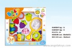 Teether and Rattle Set (6pcs)