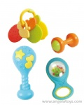 Small Bottle Rattles and Teethers