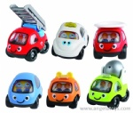 Free Wheel Cartoon Car - 1 pcs