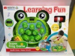 Super Frog Game Machine with light and music
