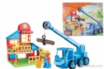 B/O  Universal Moving Assemble Trucks Including Bolcks (with light and sound effects)