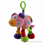 Shaking Pig Rattle with sound