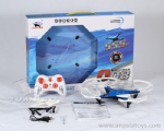 2.4G 6-axis Gyro  Remote Control Quadcopter with USB - blue, green and white 3 colors