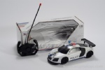 1:16 Audi R8 4-channel Remote Control Police Car - white