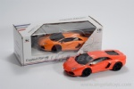 1:16 Lamborghini 4-channel Remote Control Car - red and orange 2 colors