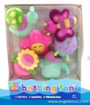 6 Pcs Insect Bath Toys with Sray Water