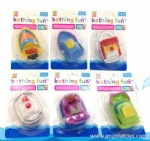 Bath Toy with Sensor Light - 6 boats ASST