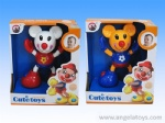 Twisting Set - bear / mouse / clown -3 models and 6 colors ASST - 9pcs