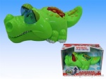 Battery-operated Crocodile with light and music