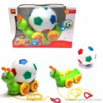 3 in 1 B/O Football Snail with light and music