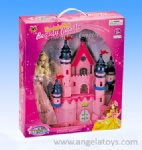 Castle and Doll Set with light and music