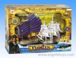 Battery-operated Pirate Ship