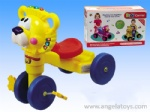 Cartoon Lion Tricycle with light and music