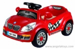 B/O Kids Car - red and white 2 colors