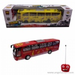 4-way Remote Control Bus with light and music