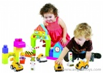 2 pcs Cartoon Trucks with Blocks