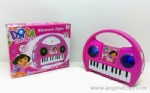 Dora Handle Piano with 3D light and music