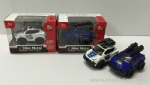 Cute Friction Power Die-cast Police Car - 2 models ASST