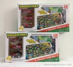 Die-cast Fire-control Set with cloth mat - 2 models ASST