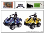 1:8 4-channel Big MAC ATV Road-off R/C Motorcycle - included batteries and a charger